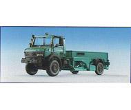 модель Kibri 14987 Unimog со специальным кузовом