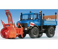 модель Kibri 14997 Unimog w/Snow Plow