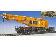 модель Kibri 16000 Кран на железнодорожном ходу GOTTWALD GS 100,06T HO
