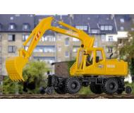 модель Kibri 16312 Atlas 2-Way Excavator w/Hi-Rail Wheels - Kit -- Yellow, Black