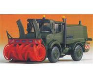 модель Kibri 18010 Unimog mit Schneefraese