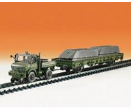 модель Kibri 18088 Unimog w/Flat w/Pontoons