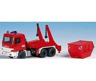 модель Kibri 18268 FW Actros пожарный с контейнером