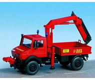 модель Kibri 18271 Автомобиль UNIMOG пожарный кран.