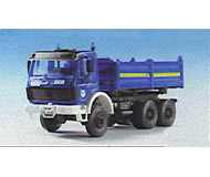 модель Kibri 18457 3 Axle Tipper Lorry THW
