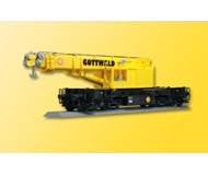модель Kibri 26000 Maintenance/Work Train Equipment - Heavy Cranes Assembled, Nonpowered -- Gottwald GS100.06T