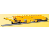 модель Kibri 26150 Plasser & Theurer MFS-100 Ballast Carrier/Conveyor - Ready to Run -- Yellow