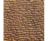 модель Kibri 34120 Wall Sections, Plastic Sheet -- Random Cut Stone, 4 шт.