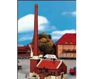 модель Kibri 36605 Boiler House w/Smokestack. Размер   8.5 x 5 x 15 см. Набор для сборки.
