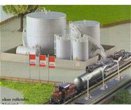 модель Kibri 36726 Large Fuel Tanks -- Kit. Размер   16 x 10 x 6 см. Набор для сборки.