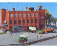 модель Kibri 36762 Factory Building -- Kit. Размер  12.5 x 9.5 x 9.5 см. Набор для сборки.
