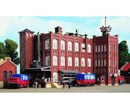 модель Kibri 36770 Factory Buildings Grunderzeit. Размер 12.5 x 9.5 см. Набор для сборки.