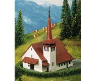 модель Kibri 36815 Church with Red Roof. Размер   7.5 x 6 x 9 см. Набор для сборки.