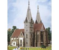 модель Kibri 36818 Goppingen Church. Размер 23 x 14 см. Набор для сборки.