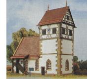 модель Kibri 37027 Schanbach Church. Размер 14 x 8 x 13 см. Набор для сборки.