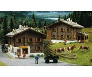 модель Kibri 37030 Rustic Houses in Sertig 2/ -- 8.5 x 6.5 x 5.5cm; 85. x 8.5 x 5.5 см. Набор для сборки.