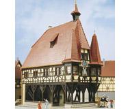модель Kibri 37104 City Hall  Michelstadt  -- 12 x 8 x 16 см. Набор для сборки.