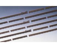 модель Kibri 37225 Wood Fencing w/Gates. Размер 230 см. Набор для сборки.