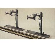модель Kibri 37462 Water Cranes. Размер   4.5 x 1.3 см. Набор для сборки.