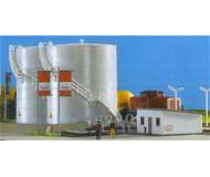 модель Kibri 37467 Twin Fuel Tanks w/Loading Facility -- Kit