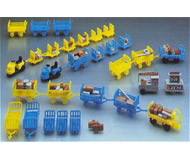 модель Kibri 37530 Baggage Wagon Assortment-Kit