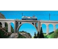 модель Kibri 37666 Stone Arch Viaduct Bridge. Размер 20.9 x 3.8 см. Набор для сборки.