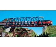 модель Kibri 37667 Box Girder Bridge w/Piers -- Blue. Размер 31.8 x 3.4 см. Набор для сборки.