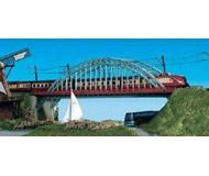 модель Kibri 37669 Bridge w/End Supports. Размер 34.8 x 5 см. Набор для сборки.
