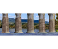 модель Kibri 37675 Viaduct Piers For Straight Or Curved Bridges
