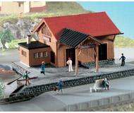 модель Kibri 37804 Sondernau Goods Depot - Kit. Размер 14.5 x 9 x 5.5 см. Набор для сборки.