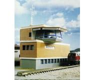 модель Kibri 37807 Signal Tower in Backnang - Kit. Размер   12 x 5 x 8 см. Набор для сборки.