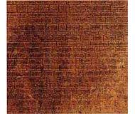модель Kibri 37964 Wall Section -- Brick-Clinker (brown). Размер   11.9 x 19.8cm Plastic Sheet