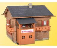 модель Kibri 38019 Gletscherblick House. Размер 9.5 x 10 x 8.5 см. Набор для сборки.