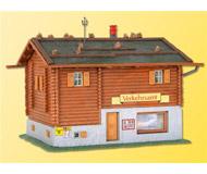 модель Kibri 38021 Verkehrsamt Alpine House. Размер 10.5 x 8 x 7 см. Набор для сборки.