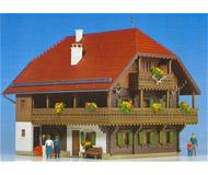 модель Kibri 38072 Forester's Lodge. Размер 15 x 11.5 см. Набор для сборки.