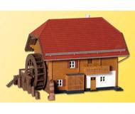 модель Kibri 38075 House w/Boutique & Garage. Размер 16 x 15 x 10 см. Набор для сборки.
