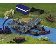 модель Kibri 38135 Emergency Help Service (THW) Accessories -- Pontoon Bridge