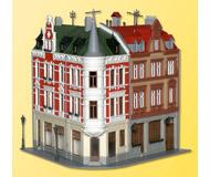 модель Kibri 38294 Terrace House w/Tower. Размер 27.6 x 23.5 см. Набор для сборки.