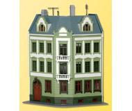 модель Kibri 38385 Elbenplatz Townhouse -- 16 x 16.8 x 18 см. Набор для сборки.