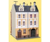 модель Kibri 38389 Town House w/Factory Annex -- 13 x 17.5 x 18.5 см. Набор для сборки.