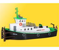 модель Kibri 38520 Modern Push/Pull Tugboat. Размер  18.2 x 6.2 x 9.5 см. Набор для сборки.