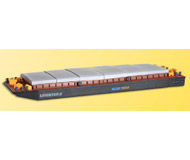 модель Kibri 38522 Container Barge/Lighter. Размер 28.5 x 9.2 x 2.5 см. Набор для сборки.