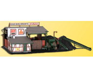 модель Kibri 38536 Coal Building. Размер 27 x 15 x 9.5 см. Набор для сборки.