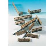 модель Kibri 38625 Wood Fence -- Brown 33-5/8  84 см. Набор для сборки.