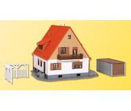 модель Kibri 38748 Single Family House w/Terrace - Kit