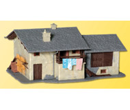 модель Kibri 38809 Mountain House in Palu. Размер 17 x 12 x 7.5 см. Набор для сборки.