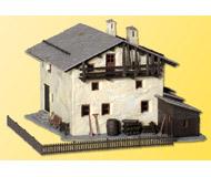 модель Kibri 38812 Mountain House in Sils. Размер 16 x 13 x 10cm