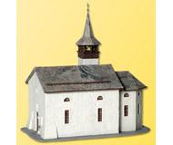 модель Kibri 38813 Chapel in Saas-Grund. Размер 17 x 12 x 18 см. Набор для сборки.