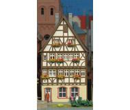 модель Kibri 38903 Half Timbered House On Market Square -- 10.5 x 8 x 16.5 см. Набор для сборки.