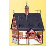 модель Kibri 38906 Country City Hall in Machingen. Размер 11.5 x 11 x 18 см. Набор для сборки.